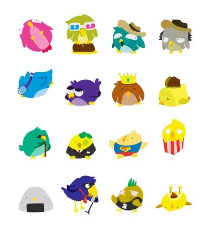 Bird Set Character Vector