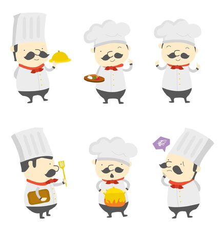 chef set group Vector