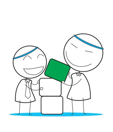 teamwork Stock Vector - 14363135