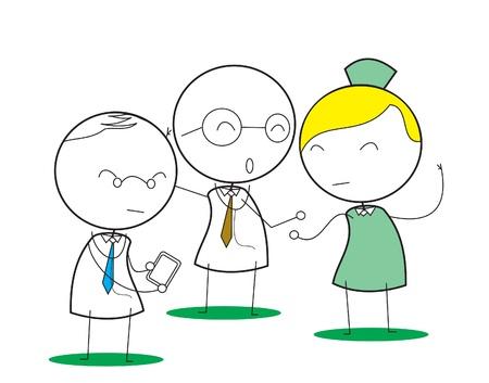 happy business team: Hospital team