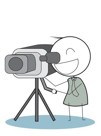 cameraman Illustration