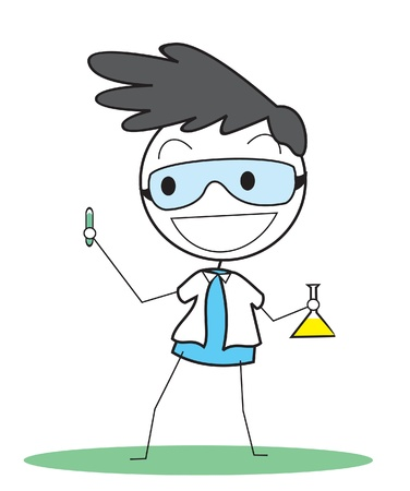 scientist Vector
