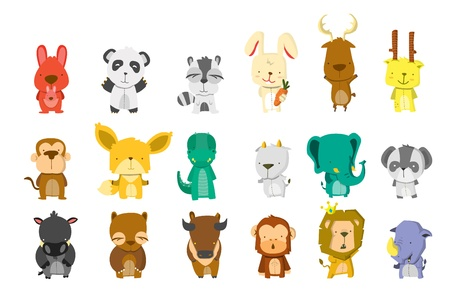 Animal Bigset Vector