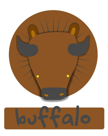 buffalo Stock Vector - 14653671
