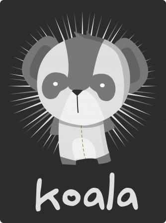 koala bear: koala Illustration