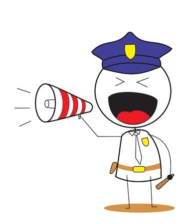 officer Stock Vector - 14833157