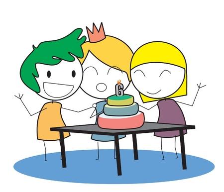 kid birthday Stock Vector - 14833469