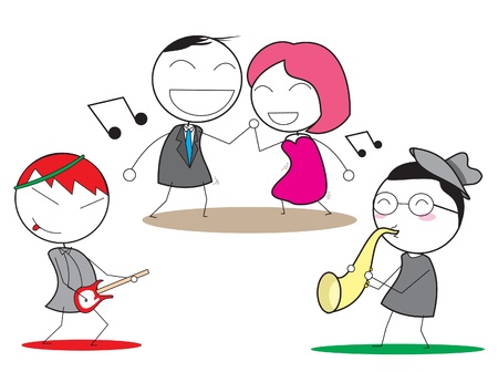 music happy Vector