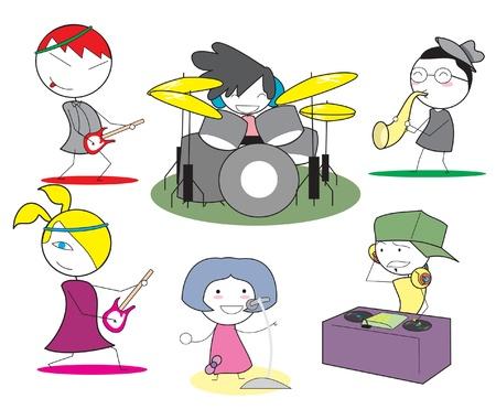 jazz singer: music band