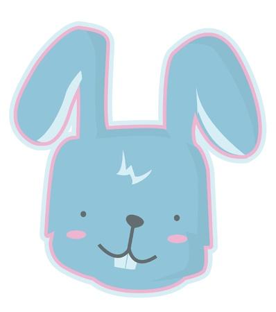 head toy: rabbit