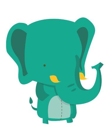 elephant head: elephant