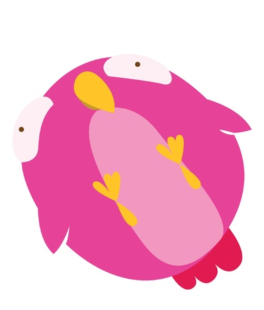 bird cute Vector