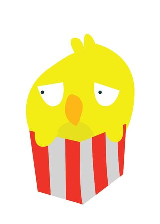 funny bird Stock Vector - 15395655