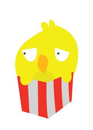 funny bird Stock Vector - 15395655