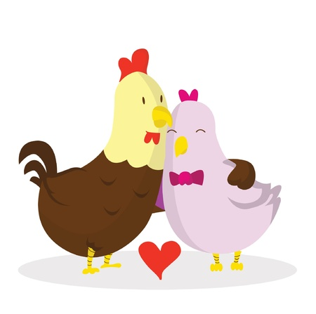 baby chicken: rooster love