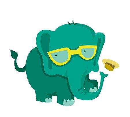 safari animal: funny elephant