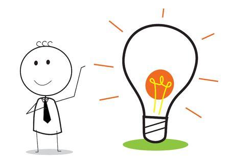 idea presentation Stock Vector - 15815541