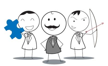 business team Stock Vector - 16247938