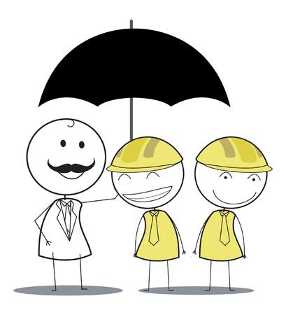 employee insurance  Vector