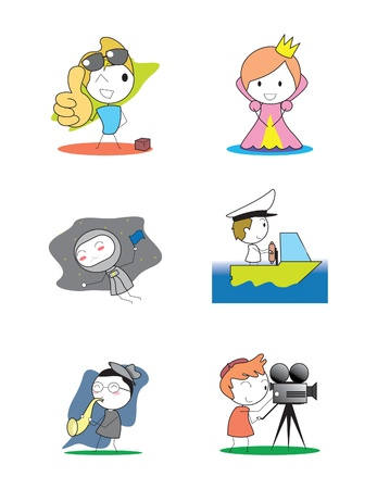 Kids Profession set  Stock Vector - 17306670