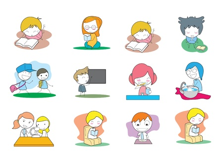 Kids Education Vector