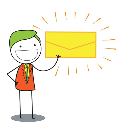 man mail Vector