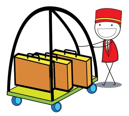 bellboy: hotel boy