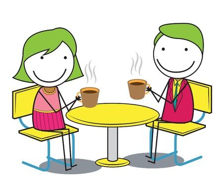 couple coffee