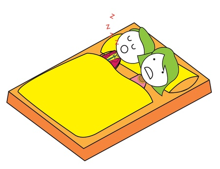 poster bed: disturb sleep