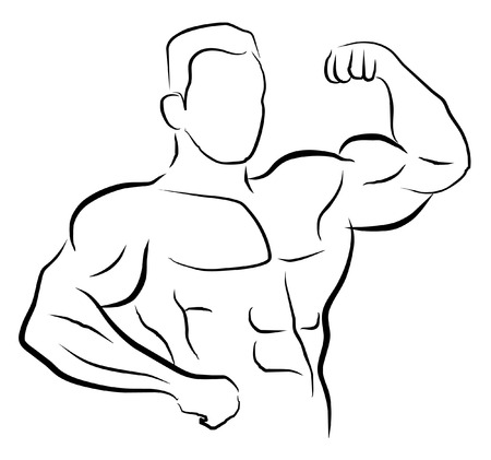 8,019 Body Building Stock Vector Illustration And Royalty Free ...