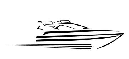 ヨット シンボル ベクトル図  イラスト・ベクター素材