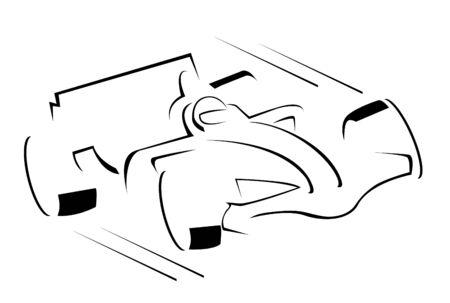 race car driver: Formula Car