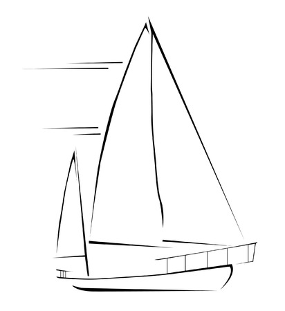 yachting: sailing boat