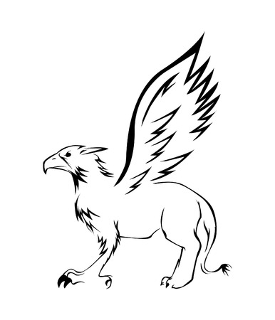 Griffin Illustrator Vector