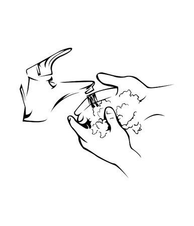 hand wash: Hand Washing