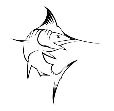 sailfish: Marlin Pesce Vettoriali