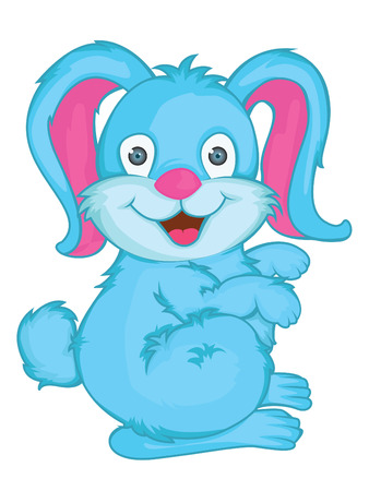 Rabbit Vector Cartoon Illustration Vector