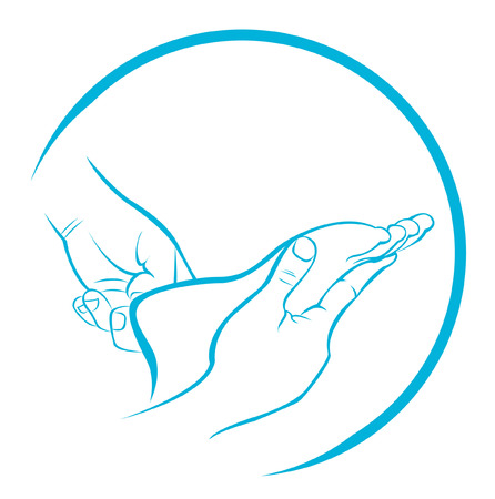 massage symbol: Foot Massage