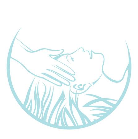 masaje: Masaje de cabeza