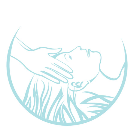 simbolo de la mujer: Masaje de cabeza