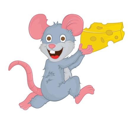 mouse cartoon: mouse cartoon Illustration