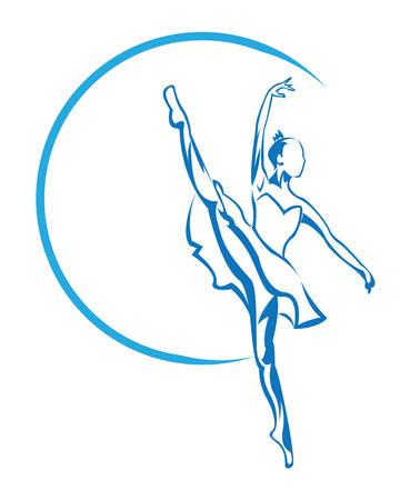 ballerina symbol Vector