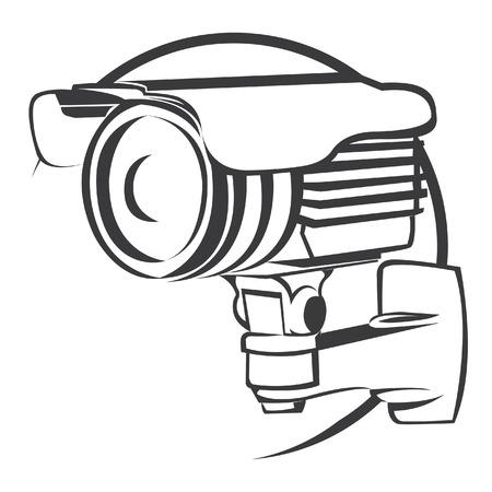 cctv: Security Camera Illustration