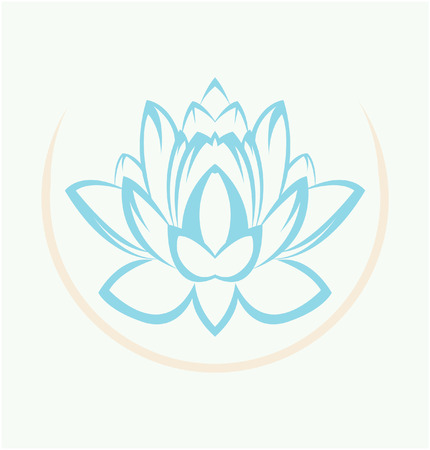 Lotus flower symbol royalty free cliparts vectors and stock lotus flower symbol stock vector 28111422 mightylinksfo