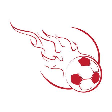 Ball Fire Ilustração