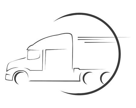 semi: Big Truck Symbol