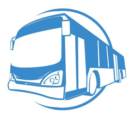 버스 교통 일러스트