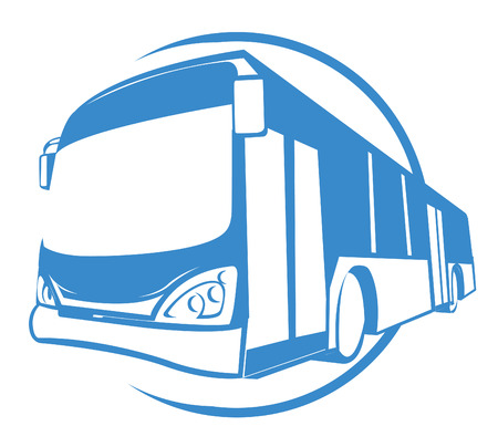 Bus Transportation Vector
