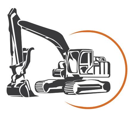 Escavator  Vectores