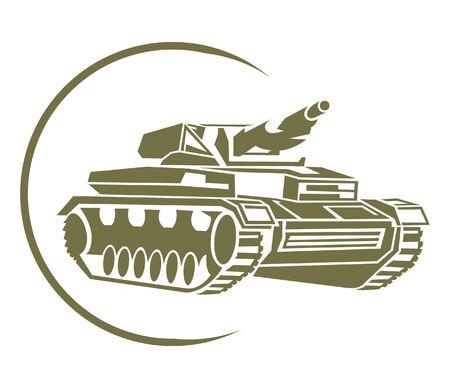 war tank: Tank S�mbolo